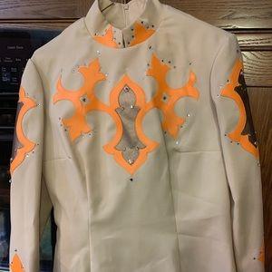 Western showmanship show outfit